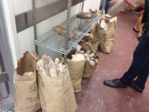 baguettes outside the bread class