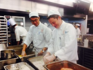 Stewart and Alton, on the bread line