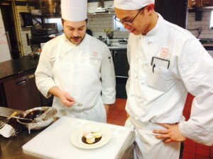 """Chef Joe and Alton discuss why his profiteroles didn't """"texturize"""""""