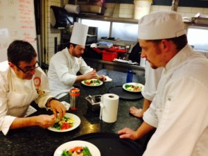 Terrence nicoise under inspection.